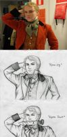 Ridiculous Pose Samueljolras Contest Entry by Nyranor