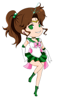 Sailor Jupiter by Hachi-Michi