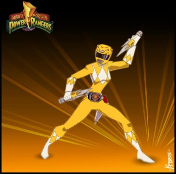 The Yellow Ranger by Kristele