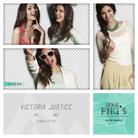 Pack Png 101 - Victoria Justice by SensePngs