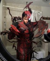 NEW COMPLETED CARNAGE COSPLAY by symbiote-x