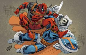 Rob Liefeld Deadpool commission by kmichaelrussell
