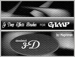 Go Deep - brushes for Gimp by blueeyedmagickman