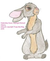 Watership Down bunny by Twap-the-Mag
