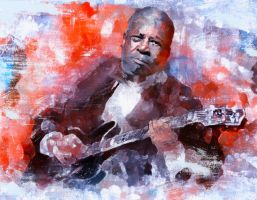 B.B. KIng by DigitalHyperGFX