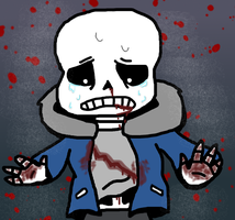 Sans Bleeding by Ashben11