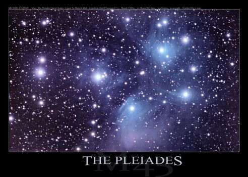 M45 The Pleiades by LakeFX