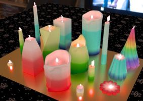 Used candles by john-reilly