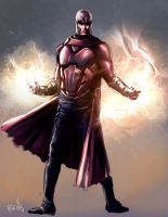 Magneto Speed Paint by Fpeniche