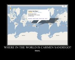 where is carmen sandiego? by Mootsey