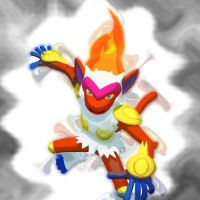 FORGEN INFERNAPE by FlamingClaw