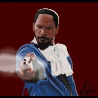 DJANGO Jamie fox Digital Drawing by laart39