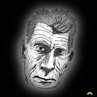 Samuel Beckett by theblastedfrench