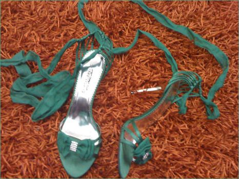 Green Shoes,, by LoveColors