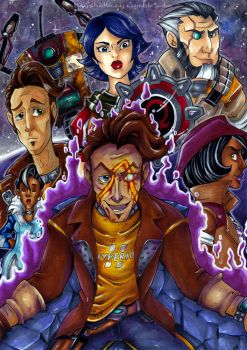 Borderlands the Pre Sequel by KeyshaKitty