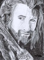 Fili from The Hobbit by mcsaza