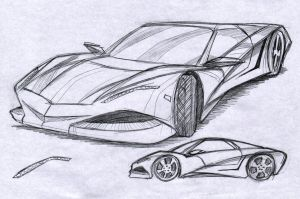 Car Design 5 by JoriV