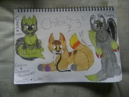 Chibi examples by Lockian
