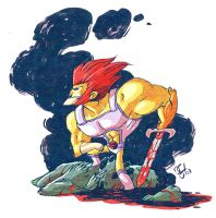 Lion-O by DerekHunter