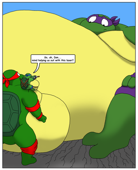 Sumo beam Donatello  page 3 by RickyDemont