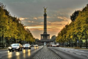 Triumphal Column by baronjungern