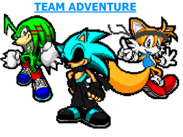 Team Adventure New style by staticthehedgehog02