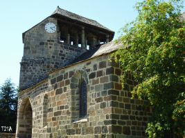SAINT ANTHIME AND SAINT SATURNIN CHURCH by isabelle13280
