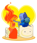 Fireloving Candles by Xcoqui