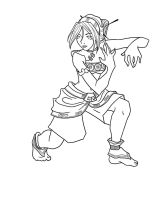 Toph - Lines by Zanai