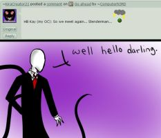 Ask slenderman #34 by ComputerN3RD