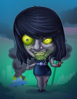 zombie-me chio by TOTOPO