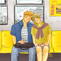 USUK: Sleeping by amewica
