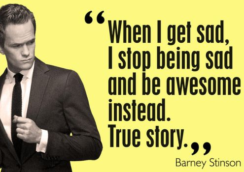 barney stinson quote. by ersandevelier