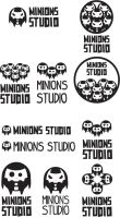 Minion Studio Logo Brainstorm by felipecarbus