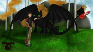 Discovering new lands-HTTYD 2 by Themystichusky