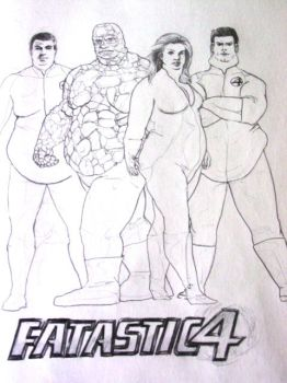 The FAT-tastic 4 by SarangOjena