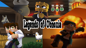 Commission: Legends of Obnoxia by Shrineheart