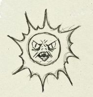 Evil Sun by Flip-Side-of-Sanity