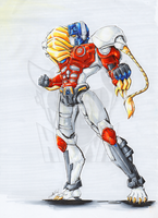 Lio Convoy - Copic by Sidian07