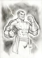 Black Adam Commission by FlowComa