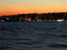 Blurry Sunset in Istanbul by imFragrance
