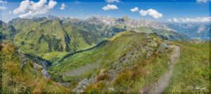View from Kreuzjoch by sigapix