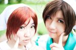 APH :: Two Peas In a Pod by Viduata