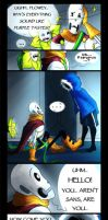 Fractures (Undertale Comic) by Tyl95