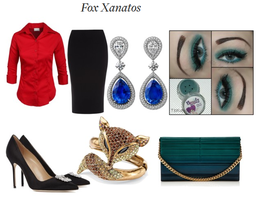 Fashion Base: Fox Xanatos by SarahGoodwill