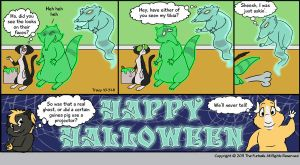 Furballed: Happy Halloween by twiggy-trace