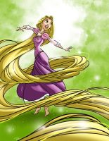 Tangled - Rapunzel by rocom