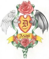 Asagi's Coat of Arms by maigonoryu