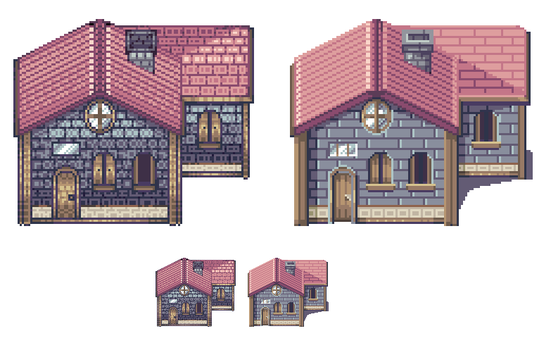 House style UPDATE by AzureRoxas