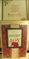 Holiday Card Project 2013 ~ Comfort and Joy by 1JoyDreamer